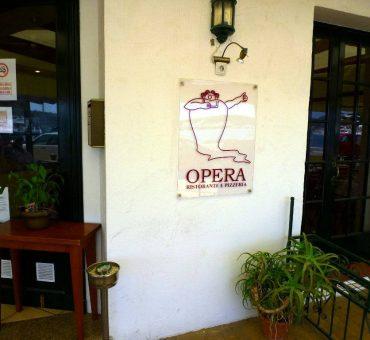 Restaurante pizzeria Opera (Mahón-Menorca)